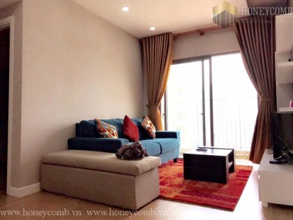 Amazing apartment two beds with city view in Masteri for rent