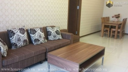 Two bedroom apartment high floor in Thao Dien Pearl for rent