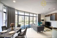 Brand new 2 beds apartment with nice view in City Garden for rent