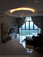 Wonderful 2 beds apartment with river view in The Vista for rent