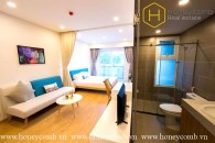 Serviced apartment with fully furnished in Thao Dien for rent