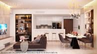 Căn hộ 4 phòng ngủ đầy phong cách tại Gateway Thao Dien