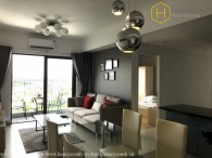 Delicate 2 bedrooms apartment with river view in Masteri Thao Dien