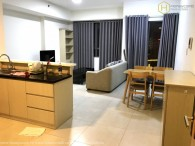 2-beds apartment with open kitchen in Masteri Thao Dien for rent