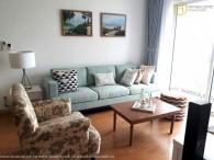 Nostalgic 3 bedrooms apartment in Masteri Thao Dien for rent