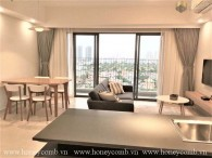 Modern with 3 bedroom apartment for rent in Masteri