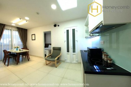 1 bedroom serviced apartment in Thao Dien, District 2