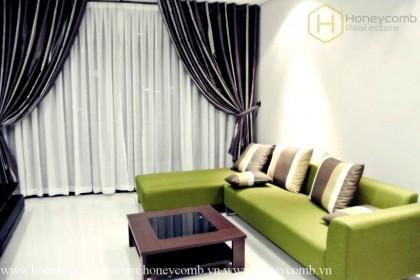 Nice design 1 bedroom apartment in City Garden for rent
