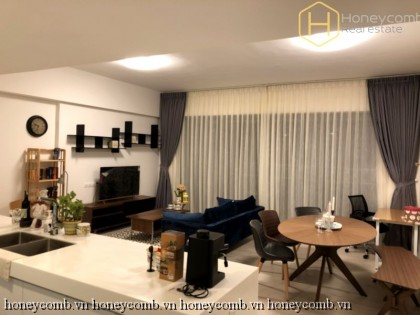 Contemporary fully furnished 2 bedrooms apartment in Gateway Thao Dien