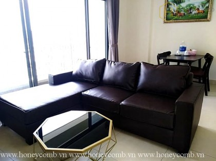 Masteri Thao Dien 2-beds apartment with park view for rent