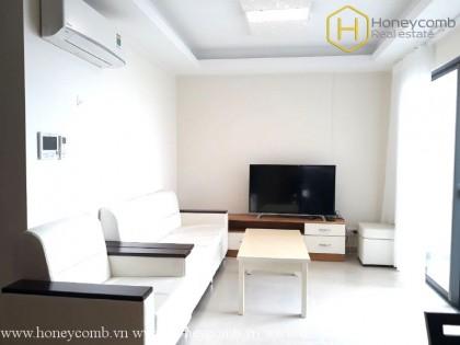 Top floor 2-beds apartment in Masteri Thao Dien for rent