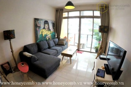 2-beds apartment with balcony living room in The Vista