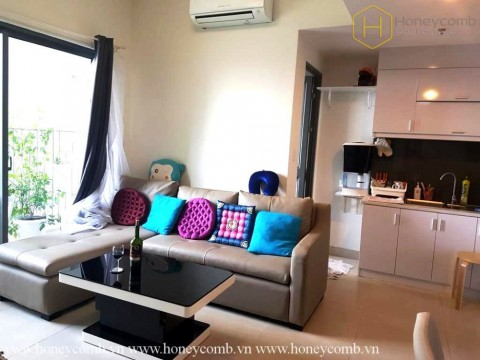 Good price 2-beds apartment with low floor in Masteri Thao Dien