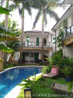 The 4 bedrooms-villa with perfect pool at Thao Dien