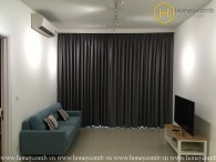 The 1 bedroom-apartment is simple but convenient in Estella Heights