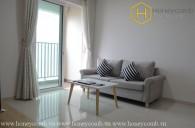 Căn hộ 2 phòng ngủ với phong cách tối giản cho thuê tại Vista Verde