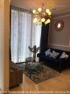 The 2-bedroom apartment with artistic features in Vinhomes Golden River