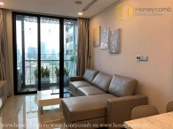 The 1 bedroom-apartment with brutalism style is very hot in Vinhomes Golden River