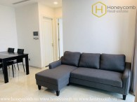 Enjoy your modern life with this 1 bedroom-apartment in Vinhomes Golden River