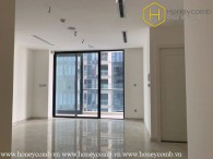 The spacious 2 bedroom-apartment with no furniture at Vinhomes Golden River