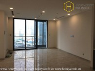 The unfurnished and spacious 2 bedroom-apartment with nice view in Vinhomes Golden River
