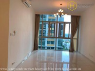 The unfurnished 2 bedrooms-apartment with extraordinary view from The Vista