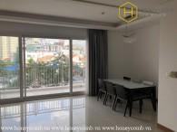 The 3 bedroom-apartment with basic furniture and supremely perfect view in Xi Riverview Palace