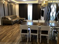 Perfect interior with a 3-bedroom apartment in Vista Verde for rent