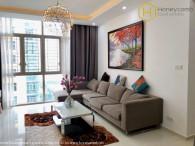 Perfect interior with a 3-bedroom apartment in The Vista An Phu for rent