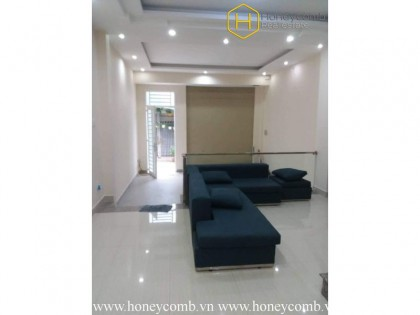 The convenient house at Thao Dien