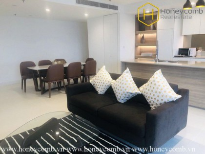 Bright and splendid 3 bedrooms apartment in City Garden