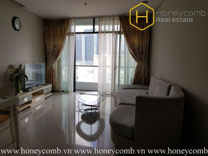 The 1 bedrooms-apartment is so elegant in City Garden
