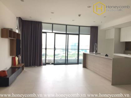 The unfurnished 3 bedrooms-apartment with extraordinary view from City Garden