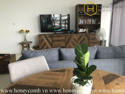 The 2 bedrooms-apartment with wild style in City Garden