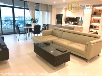 The 3 bedroom-apartment with smart design and reasonable price in City Garden
