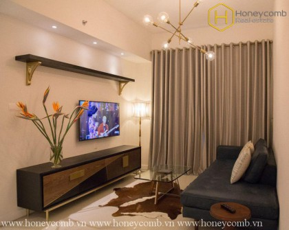 The 1 bedroom-apartment is blended modernity and art in Gateway Thao Dien