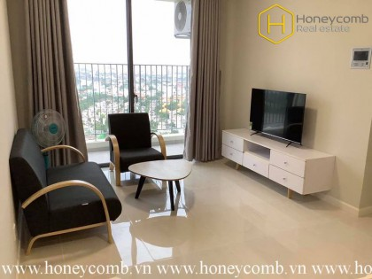 The delicate 2 bedrooms-apartment for lease in Masteri An Phu