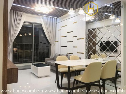 The attractive 2 bedrooms-apartment for lease in Masteri An Phu