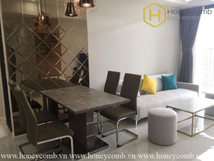 The 2 bedrooms-apartment with avant garde style in Masteri An Phu