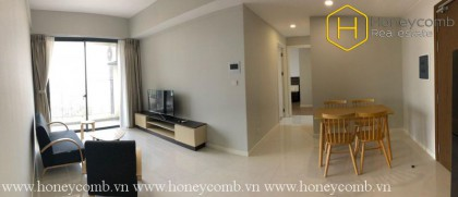The 2 bedroom-apartment is simple but very elegant in Masteri An Phu