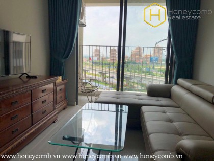 The 2 bedroom-apartment with classical style in Masteri An Phu
