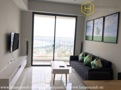 The 2 bedroom-apartment with fresh and natural style in Masteri An Phu