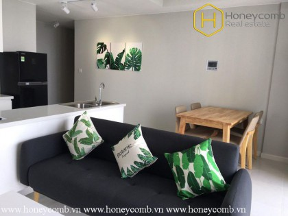 The 2 bedroom-apartment with tropical style is very delightful in Masteri An Phu