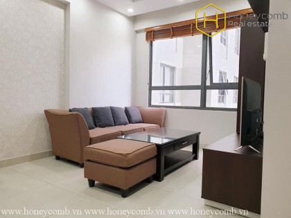 Beautiful floral decorated two beds apartment in Masteri Thao Dien