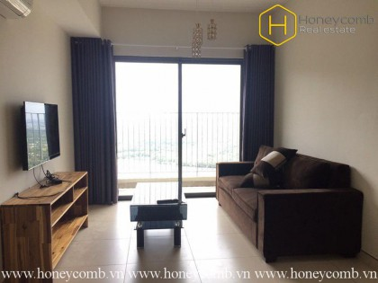 Spacious 2 bedroom apartment with new furniture in Masteri Thao Dien