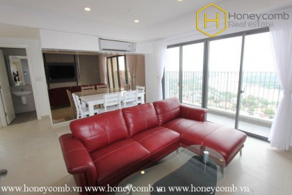 Nostalgic 3 bedroom apartment with river view in Masteri Thao Dien
