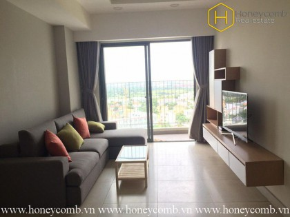 Good furniture with 3 bedrooms apartment in Masteri Thao Dien