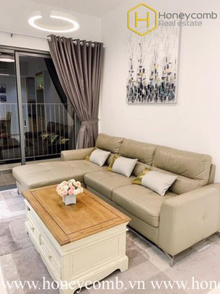 Wonderful 2 bedrooms apartment with river view in Masteri Thao Dien