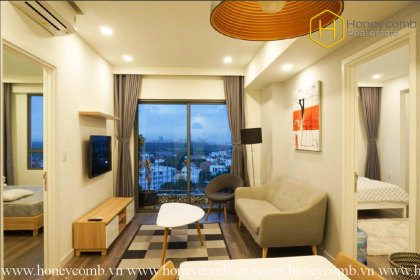 This delicate 2 bedrooms-apartment tailored to your highest standards in Masteri