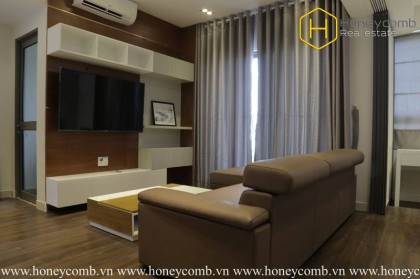 The 1 bedroom-apartment with modern vintage style in Masteri Thao Dien
